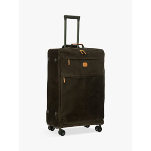 Bric's Life Lightweight 4-Wheel 77cm Large Spinner Suitcase, Olive