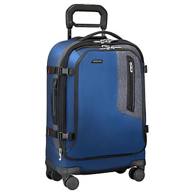 Briggs & Riley Explore Domestic Carry-On Expandable Spinner Suitcase, Blue