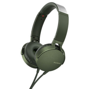 Sony MDR-XB550AP Extra Bass On-Ear Headphones with Mic/Remote