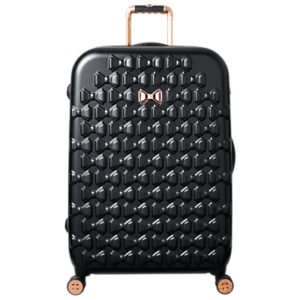 Ted Baker Beau 79cm 4-Wheel Large Suitcase, Black