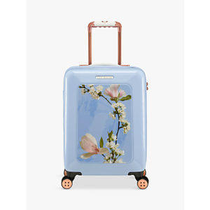 Ted Baker Harmony 4-Wheel 54cm Cabin Suitcase, Blue