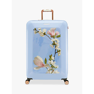 Ted Baker Harmony 4-Wheel 80cm Large Suitcase, Blue