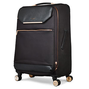 Ted Baker Soft Albany 71cm 4-Wheel Suitcase, Black