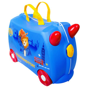 Trunki Paddington Bear Ride, Blue