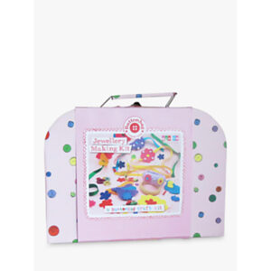 Buttonbag Jewellery Suitcase Crafting Kit