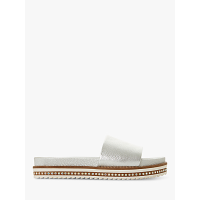 Dune Layers Diamante Embellished Sandals, Silver