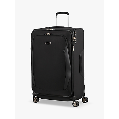 Samsonite X'Blade 4.0 Spinner 4-Wheels 78cm Suitcase, Black