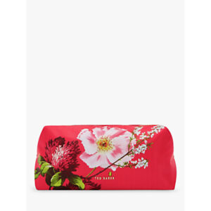 Ted Baker Frede Berry Sundae Makeup Bag, Red