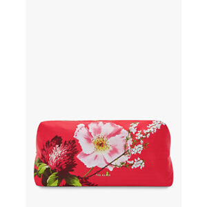 Ted Baker Hippi Berry Sundae Wash Bag, Red