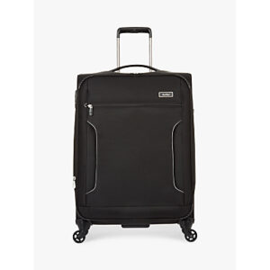 Antler Cyberlite II 2-Wheel 70cm Medium Suitcase, Black