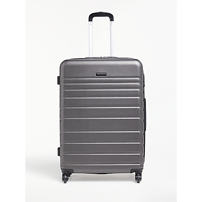 John Lewis & Partners Athens 75cm 4-Wheel Large Case, Black